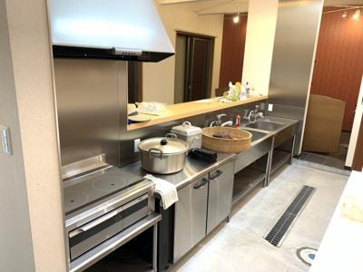 厨房機器とてもきれいですよ☆