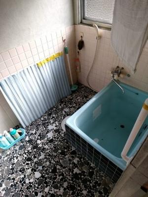 【浴室】伊佐口中古住宅
