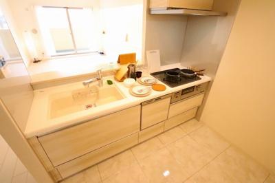 使いやすいキッチンです:リフォーム完了しました♪三郷新築ナビで検索♪