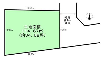 【区画図】練馬区富士見台2丁目 土地 西武池袋線 富士見台