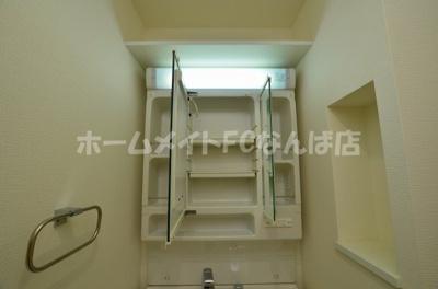【独立洗面台】セイワパレス京町堀