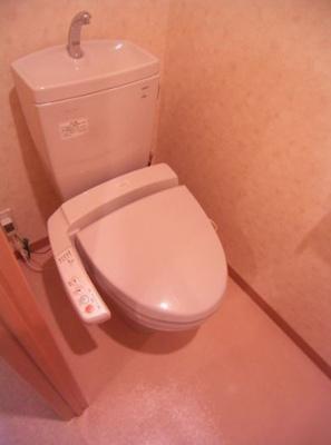 【トイレ】レジデンスカープ博多