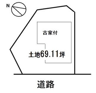 【土地図】湖南市三雲 売土地