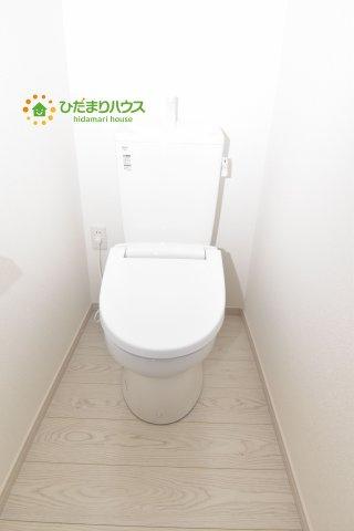 【トイレ】北区別所町 4期 新築一戸建て Ricca 01