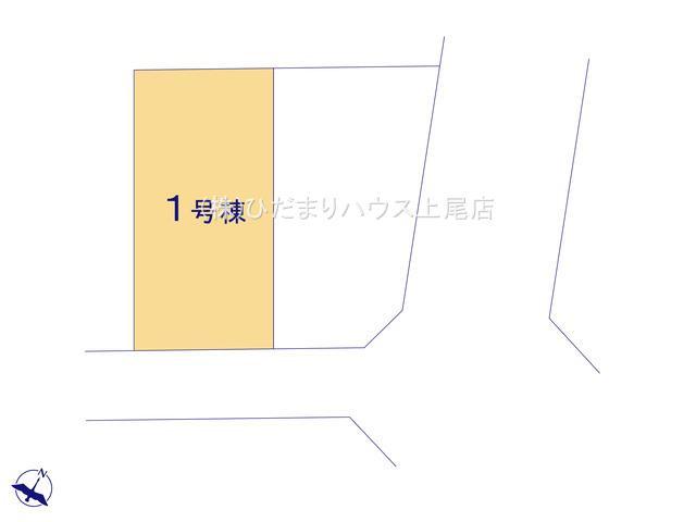 【区画図】北区別所町 4期 新築一戸建て Ricca 01