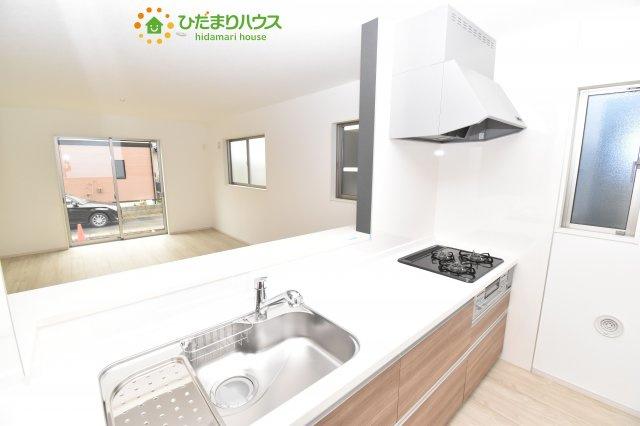 【キッチン】北区別所町 4期 新築一戸建て Ricca 01