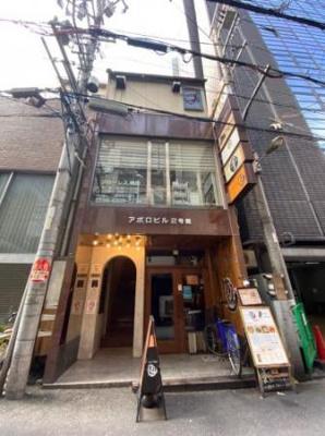 【外観】美容室居抜 2階 曽根崎 北新地駅