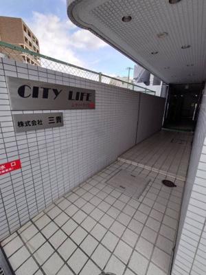 【エントランス】シティライフ都島