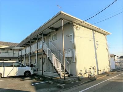 【外観】カギナカハイツJ