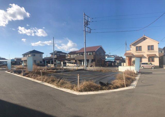 【前面道路含む現地写真】野田市柳沢 全6区画
