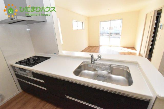 【キッチン】北本市石戸5丁目 新築一戸建て リーブルガーデン 01