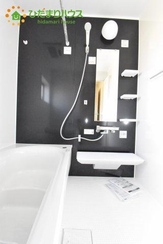 【浴室】北本市石戸5丁目 新築一戸建て リーブルガーデン 01