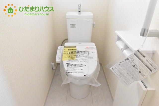 【トイレ】北本市石戸5丁目 新築一戸建て リーブルガーデン 01