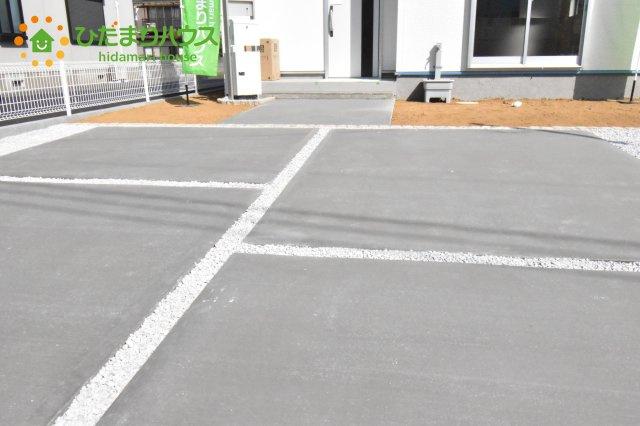 【駐車場】北本市石戸5丁目 新築一戸建て リーブルガーデン 01