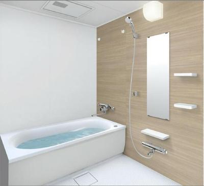【浴室】ロワールマンション和白5