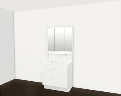 【洗面所】ロワールマンション和白5