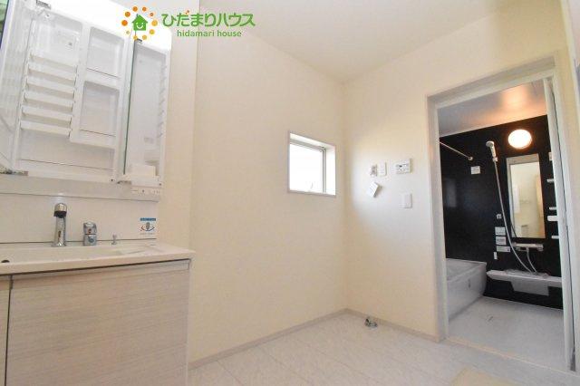 【洗面所】北本市石戸5丁目 新築一戸建て リーブルガーデン 04