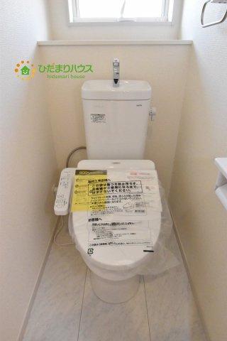 【トイレ】北本市石戸5丁目 新築一戸建て リーブルガーデン 04