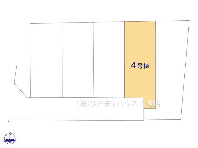 【区画図】北本市石戸5丁目 新築一戸建て リーブルガーデン 04