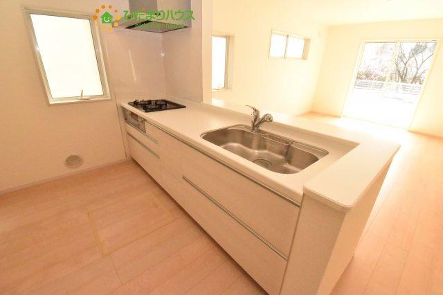【キッチン】北本市石戸5丁目 新築一戸建て リーブルガーデン 04
