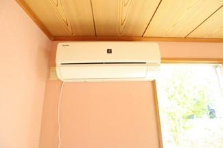 エアコン全部屋完備されており、一律プラズマクラスターで統一されております。
