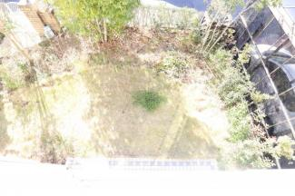 お庭。 2階から撮影。