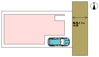 【区画図】高槻市下田部町2丁目