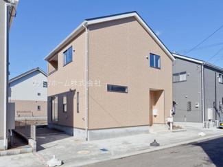 四街道市和良比 新築一戸建 施工例です。