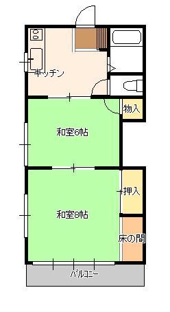 第八西山荘(アパート)