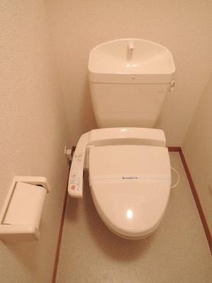 温水洗浄便座機能付.