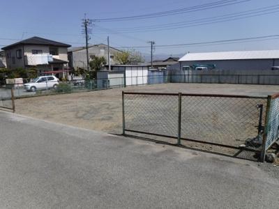 【外観】南アルプス市有野96坪売地