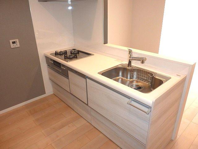 食洗機付のシステムキッチンです。