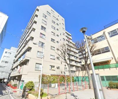 【外観】入谷松が谷マンション 2階 リ ノベーション済