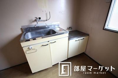 【キッチン】井川ハイツ