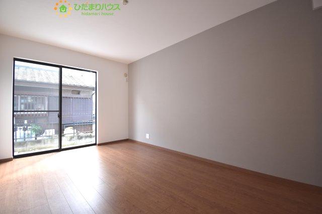 1階に寝室があります!
