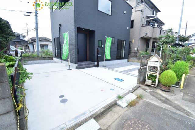 【前面道路含む現地写真】鴻巣市宮前 新築一戸建て