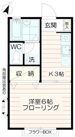 バストイレ別【セジュール堀之内】