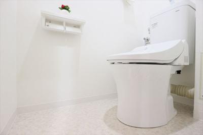 便器・温水洗浄便座新調済なので、気持ちよくお使いいただけます。