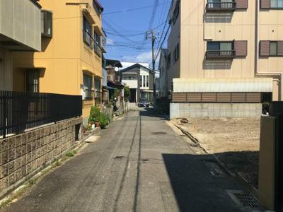 【前面道路含む現地写真】今津久寿川町土地