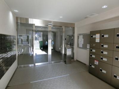 【エントランス】白金武蔵野マンション