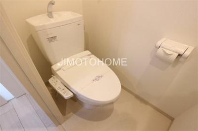 【トイレ】モダンアパートメント大阪ドーム前