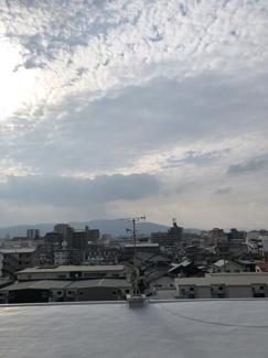 バルコニーからの気持ちのいい眺望♪毎日大きな空を眺められます♪