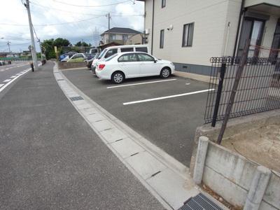 【駐車場】ハピネス手代ヶ丘