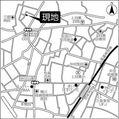 【地図】フラッツK&N