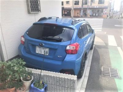 1台分の駐車スペースがあります。。