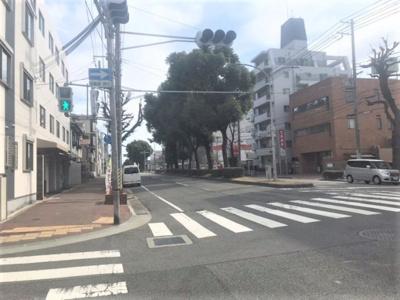 【前面道路含む現地写真】中央区上筒井通3丁目 中古戸建