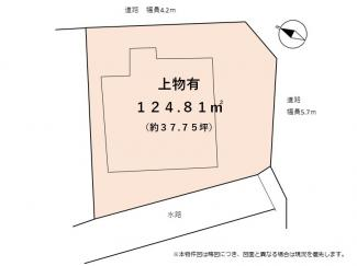 【土地図】近江八幡市堀上町 売土地