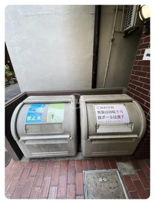 メゾンドール日本橋 ゴミ箱
