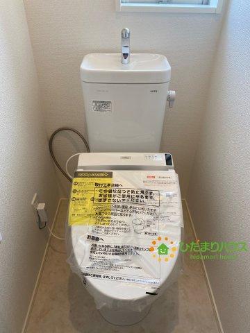 【トイレ】白岡市西2丁目 5期 新築一戸建て 01 グラファーレ