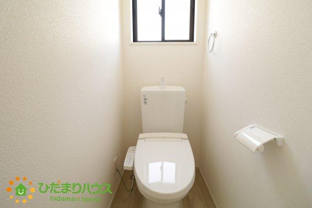 温水洗浄便座のトイレを完備しております♪